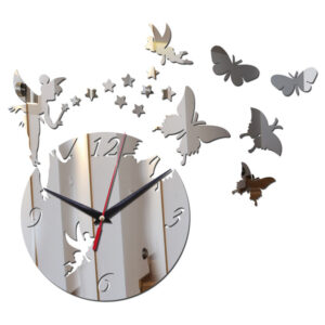 Home Clock Living Room Decal