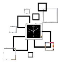 Square Clock Wall Sticker