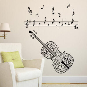Musically Decal Sticker