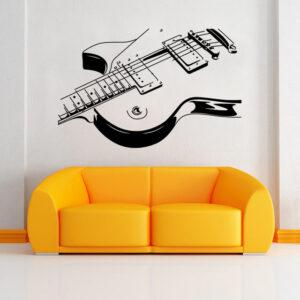 Guitar Wall Sticker