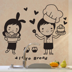 Bakers Wall Sticker