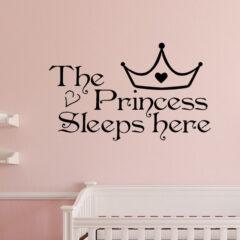 The Princess Wall Sticker