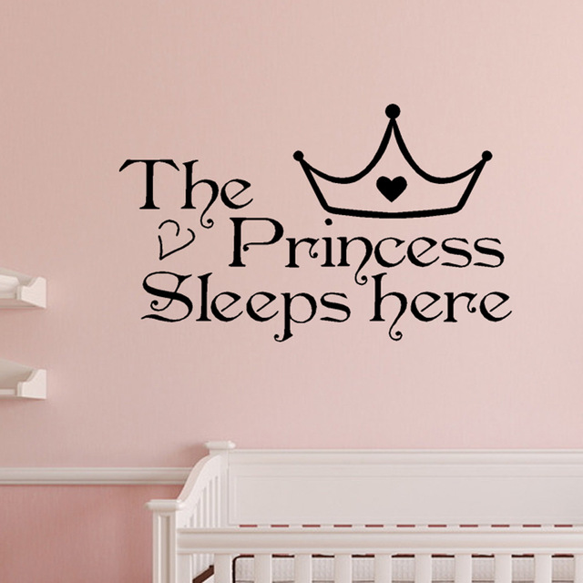 The Princess Wall Sticker – WallStickersCo
