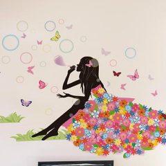 Flower Girl Dress Sticker