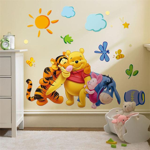 Pooh Friends Wall Sticker Wallstickersco