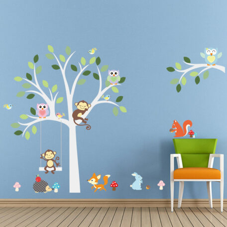 wise-fox-squirrel-monkey-owls-on-white-tree-wall-stickers-for-kids-room-love-birds-wall-jpg_640x640