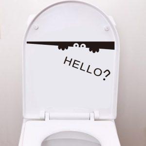 Toilet Hello